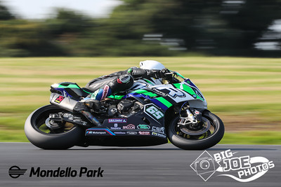 Masters Superbike, August 28th 2021, Mondello Park, Michael Sweeney, BMW 1000RR, turn 4 Superbike race one.