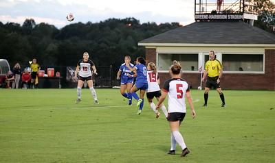 Women's Soccer home game against Hampton University.