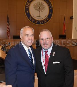 OC DA Hoovler and NYS Comptroller DiNapoli announce felony guilty please in IDA case on Monday, June 21, 2021. HUDSON VALLEY PRESS/ Chuck Stewart, Jr.