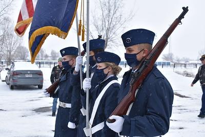POW-MIA Flag Retirement - 1