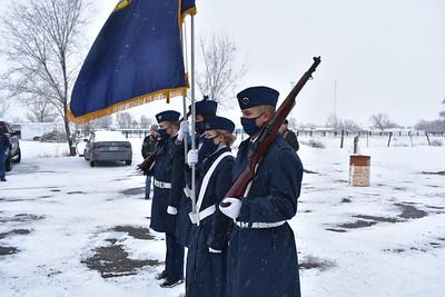 POW-MIA Flag Retirement - 2
