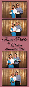 2021.01.29 - Juan Pablo and Deicy's Wedding Photo Booth, The Event Factory, Tampa FL