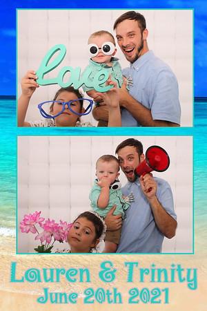 2021.06.20 - Lauren and Trinity's Wedding Photo Booth, St Pete Beach, St Petersburgh, FL