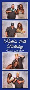 2021.03.27 - Parth's 30th Birthday Photo Booth, Punta Gorda, FL