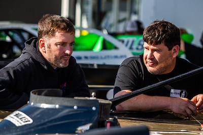 Tim McCreadie (L) and Kevin Rumley (R)