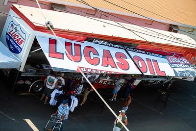 Lucas Oil souvenir trailer