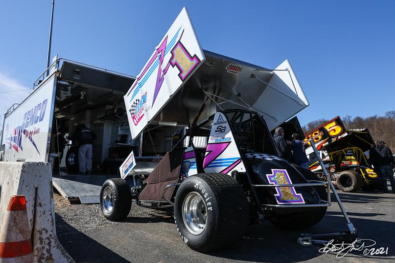 2021 Season Opener - Port Royal Speedway - 1 Logan Wagner