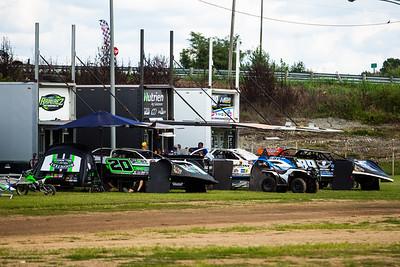 Portsmouth Raceway Park pit area