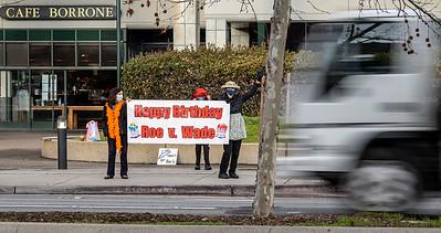 Roe v. Wade Birthday Celebration, Menlo Park 1/21