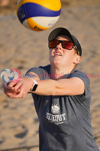 Beach Volleyball Training Night, Troon, Tue 10th Aug 2021