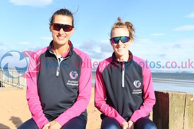 Birmingham 2022 Commonwealth Games Qualifier, Portobello Beach, (city), 24 September 2021.  © Lynne Marshall  https://www.volleyballphotos.co.uk/2021/SCO/Beach/CGQ1/