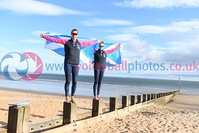 Birmingham 2022 Commonwealth Games Qualifier, Portobello Beach, 24 September 2021.  © Lynne Marshall  https://www.volleyballphotos.co.uk/2021/SCO/Beach/CGQ1/