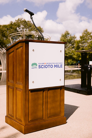 Scioto Mile Reopening Event