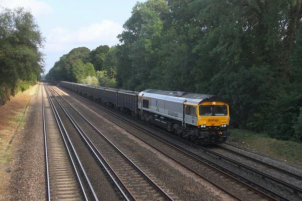 66793 Old Basing 15/09/21 4Y19 Mountfield to Southampton Western Docks