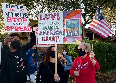 Anti-Asian Hate Rally Albany 3 25 21 Nancy Rubin 2