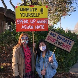 Anti-Asian Hate Rally Albany 3 25 21 Nancy Rubin 4