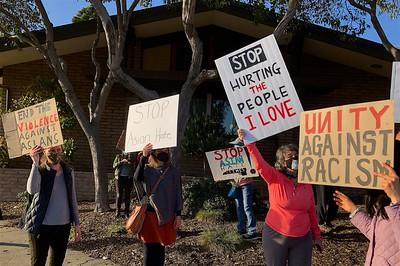 Anti-Asian Hate Rally Albany 3 25 21 Nancy Rubin 16