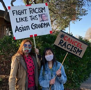 Anti-Asian Hate Rally Albany 3 25 21 Nancy Rubin 5