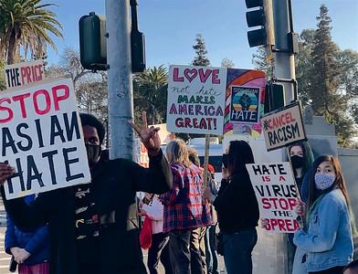 Anti-Asian Hate Rally Albany 3 25 21 Nancy Rubin 10
