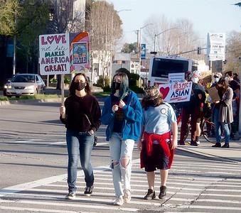 Anti-Asian Hate Rally Albany 3 25 21 Nancy Rubin 9