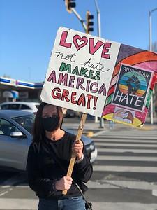 Anti-Asian Hate Rally Albany 3 25 21 Nancy Rubin 8