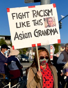 Anti-Asian Hate Rally Albany 3 25 21 Nancy Rubin 19