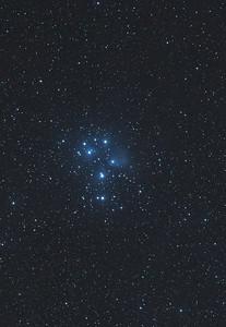 Pleiades Starcluster