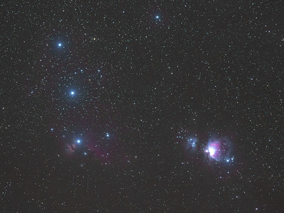 Orions Belt and Sword