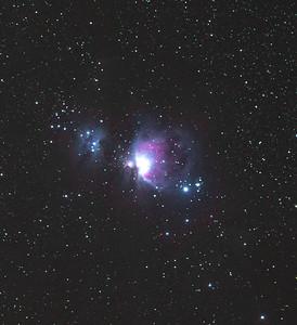 Running Man Nebula + Orion Nebula