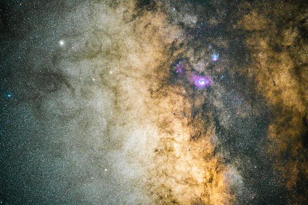 Milky Way Zoom