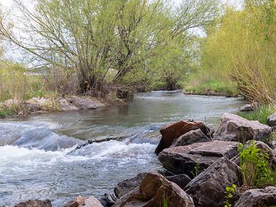 Morning river run in Rapid City, SD