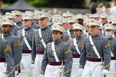 The United States Military Academy Class of 2021 graduation and commissioning ceremony was held on Saturday, May 22, 2021 in West Point's Michie Stadium where Secretary of Defense Lloyd J. Austin III was the commencement speaker. Hudson Valley Press/CHUCK STEWART, JR.