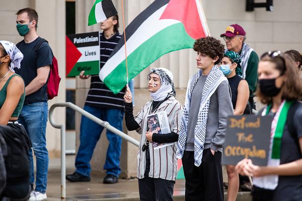 UofM Palestine Protest