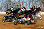 dirt track racing image - 2021 Season Opener - Williams Grove Speedway - 0 Rick Lafferty, 24 Kerry Madsen