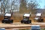 dirt track racing image - 2021 Season Opener - Williams Grove Speedway - 21 Matt Campbell, 72 Tim Shaffer, 95 Hunter Mackison