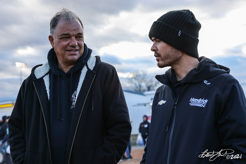 Tommy Hinnershitz Memorial Spring Classic - FloRacing All Star Circuit of Champions presented by Mobil 1 - Williams Grove Speedway - Lance Dewease, Kyle Larson