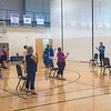 211004 YMCA Enterprise 1<br /> James Neiss/staff photographer <br /> Lockport, NY - YMCA members take part in the Silversneakers Classic exercise class. There is a class at various times M-F to accommodate busy schedules.