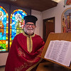 210914 Priest Anniversary 1<br /> James Neiss/staff photographer <br /> Lewiston, NY - Reverend Father Raphael Barberg, pastor of St. George's Orthodoc Church is celebrating 3 years as pastor.