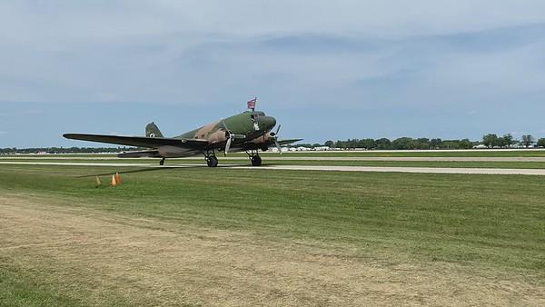 World War 2  transport plane
