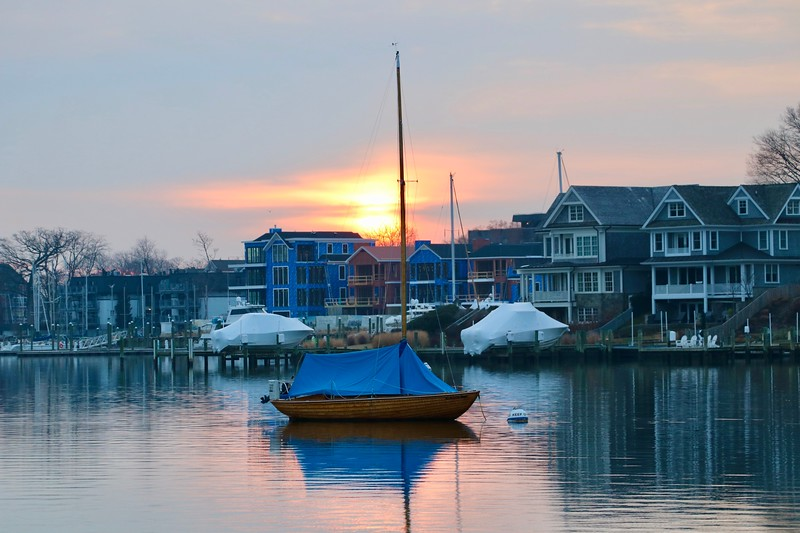 Sunrise in Annapolis, Spa Creek