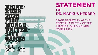 Statement Dr. Markus Kerber, State Secretary at the Federal Ministry of the Interior, Buliding and Community