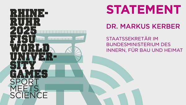 Statement Dr. Markus Kerber, Staatssekretär im BMI (Dt.)