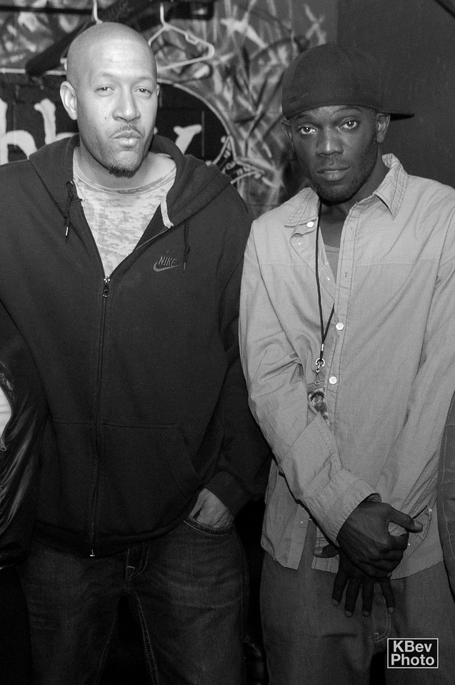 KBev: Tell me about how you got tight with MC Juice.  His verse on KGB is legendary.  How far back do you go?<br /> <br /> OBL: I met Juice back around '98.  We (Binary Star) went out to Chicago to perform and met this DJ names Risky Bizness.  I think We met Juice through him, rocking on the same bill.  We had first heard him on a mixtape that Decompoze had, and didn't know he was Juice til we saw him perform.  We didn't know he was a legend, I just thought he was dope.  Next thing you know we were going back and forth to Chicago building with different acts on the scene, while Juice and O Type would come out and build with us in Michigan.  That was our fam from Chicago.   I guess messing with them is how we got introduced to everybody else out there.  We introduced them to all the cats we worked with at home.  All of us were in the studio at the same time when we recorded KGB, like Malaki, AML,  Elzhi and Lacks.  Juice and O Type rode the AmTrak out to Pontiac to lay their verses on KGB that day.  Back then that's how Hip Hop worked.