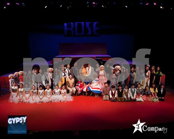 GYPSY Cast, Crew & Orchestra photos
