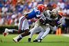 Photos from the first half as the Florida Gators host the Vanderbilt Commodores for Homecoming at Ben Hill Griffin Stadium in Gainesville, Florida on October 9th, 2021. (Photo by David Bowie/Gatorcountry)