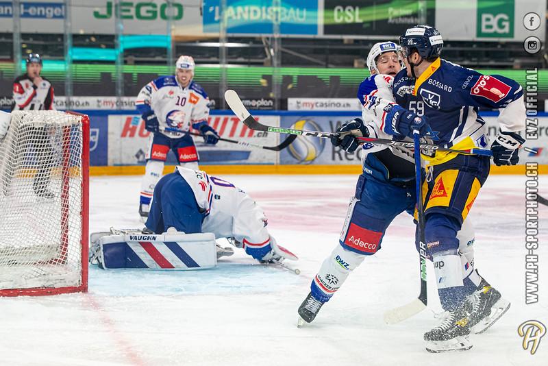 National League - 20/21: EV Zug - ZSC Lions - 26-01-2021