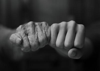 Thuis oefening Handen