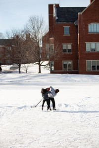 Pond Hockey on Potter's Pond