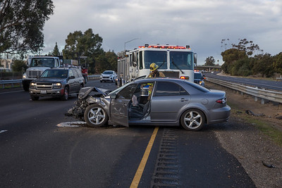 (2/13/18) Highway 101 Crash