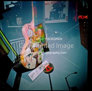 Rainbow Gibson guitar